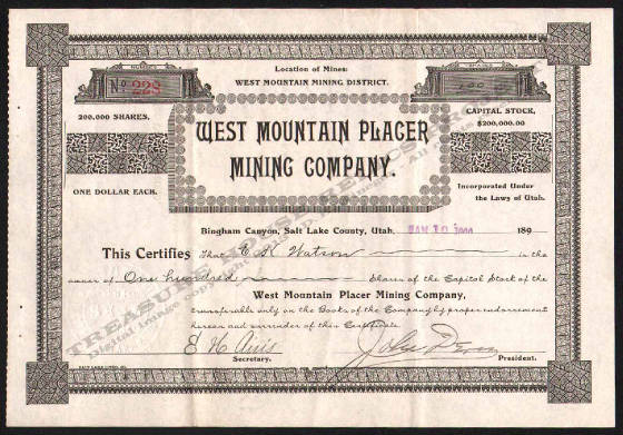 LETTERHEAD/ARCHIVE_17070_STOCK_WEST_MOUNTAIN_PLACER_MINING_COMPANY_228_1900_DSW_150_CROP_EMBOSS.jpg