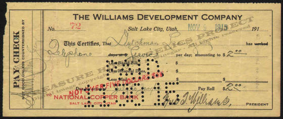 LETTERHEAD/CHECK_WILLIAMS_DEVELOPMENT_COMPANY_72_1915_11_6_DSW_400_CROP_EMBOSS.jpg