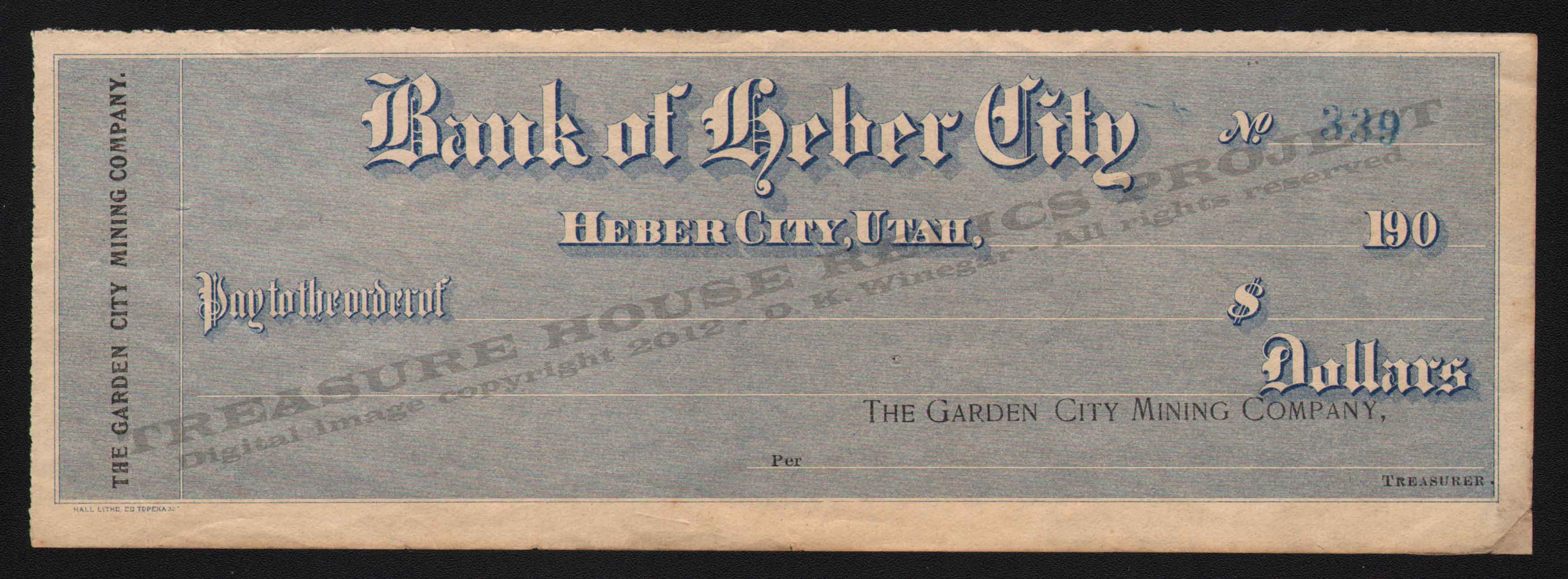LETTERHEAD/CHECK_GARDEN_CITY_MINING_COMPANY_BANK_OF_HEBER_CITY_339_NI_400_CROP_EMBOSS.jpg