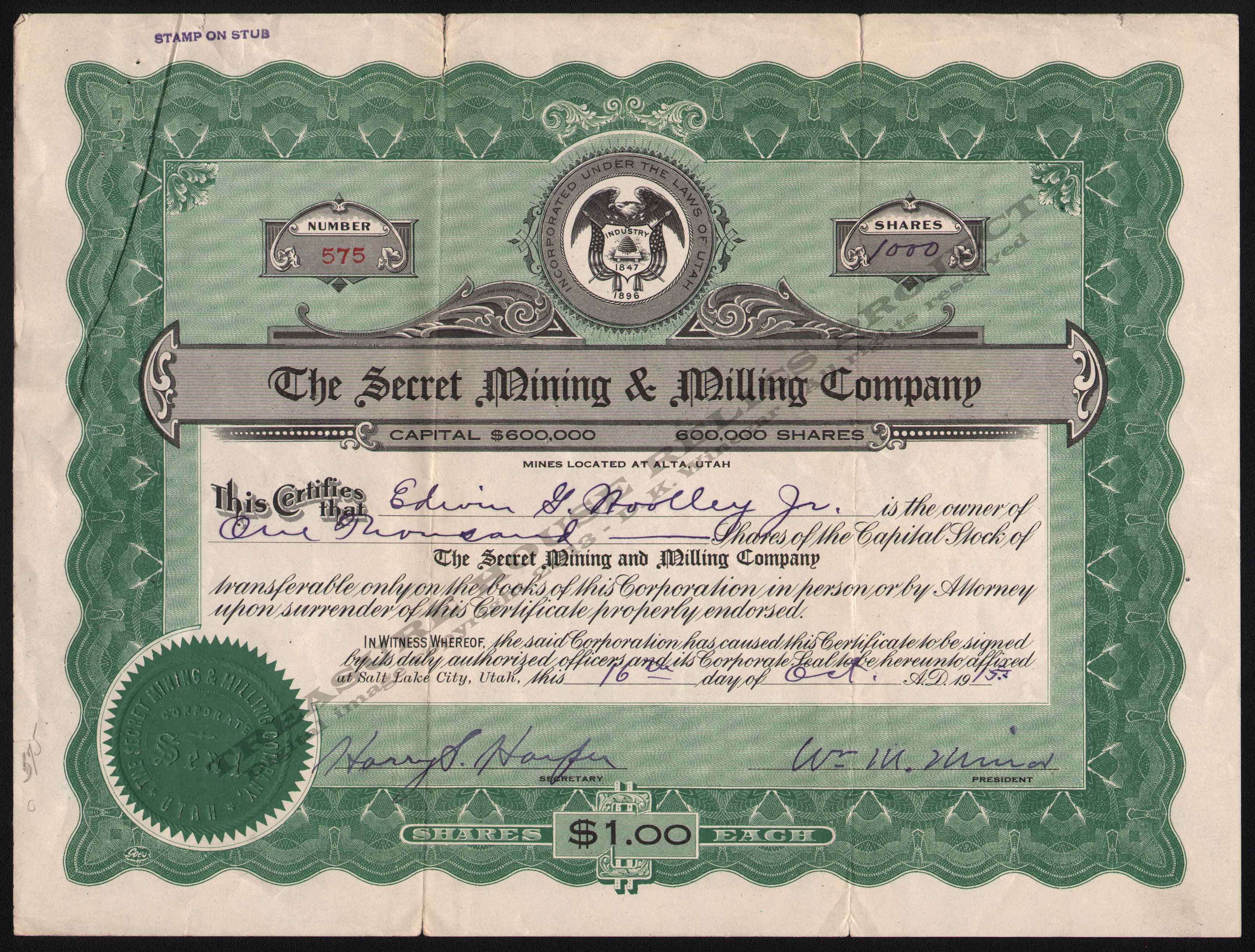 LETTERHEAD/STOCK_SOUTH_HECLA_EXTENSION_MINING_COMPANY_317_1916_DSW_300_CROP_EMBOSS.jpg